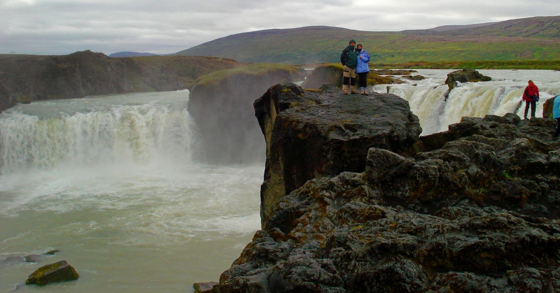 Explorando Iceland.