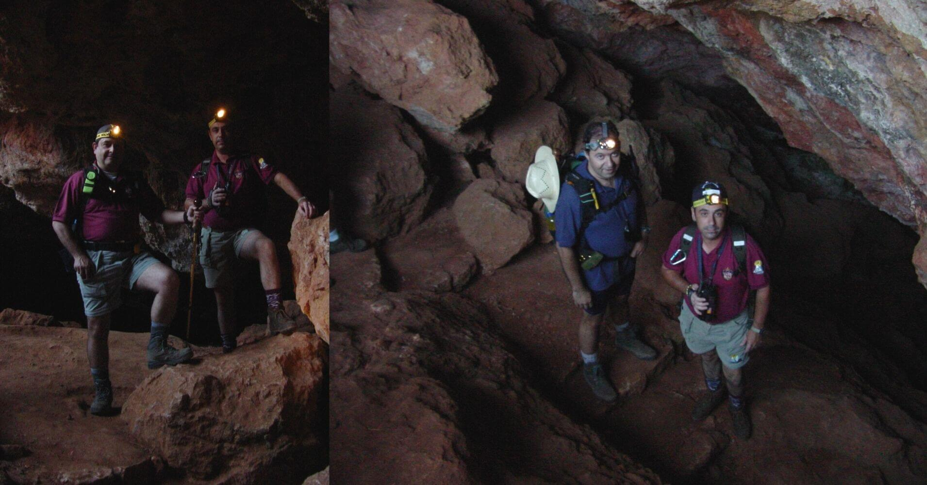 Explorando la Cueva de Montesinos. Ossa de Montiel, Albacete. Castilla la Mancha.