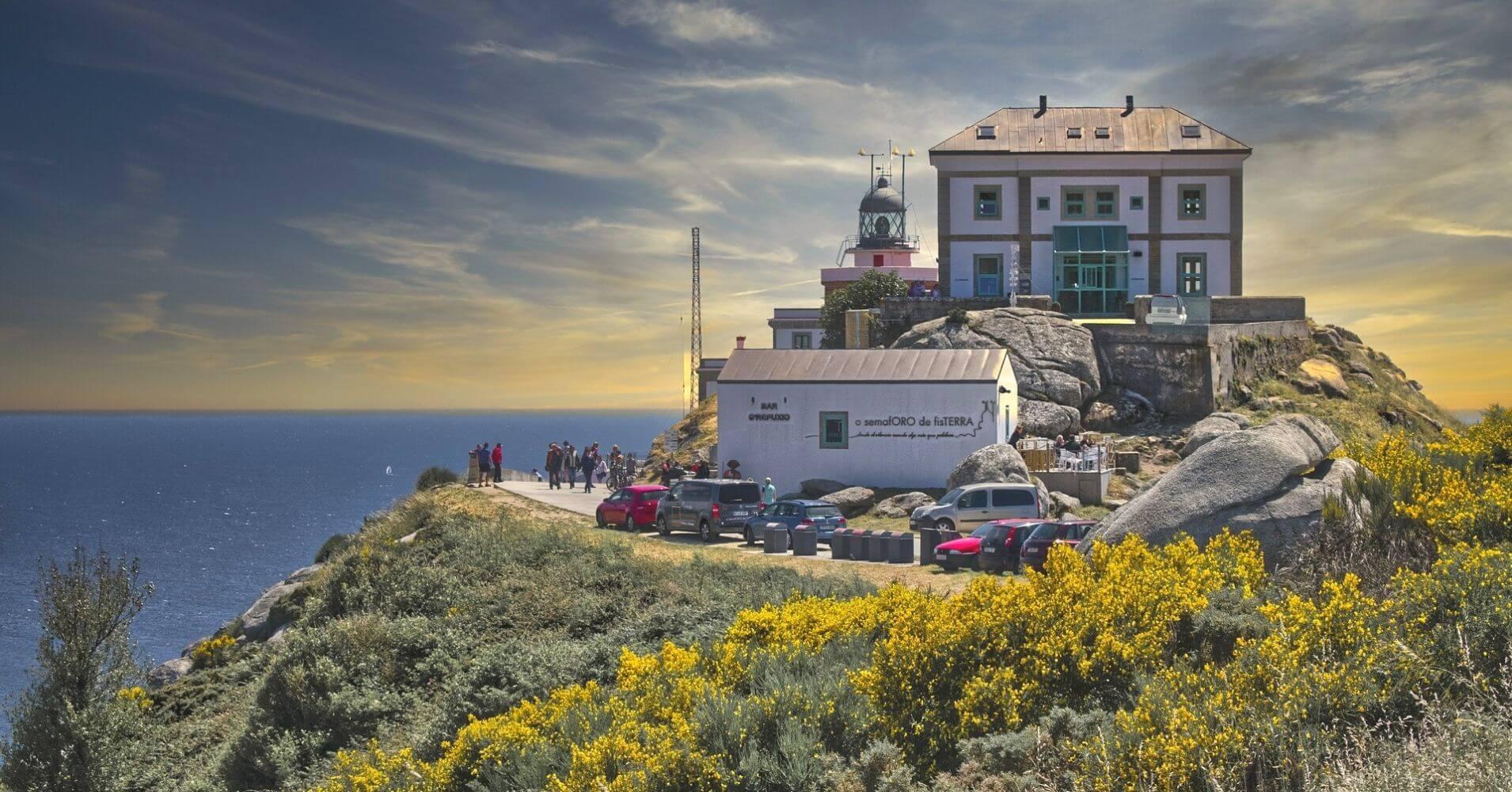 Faro de Finisterre. A Coruña. Galicia, España.