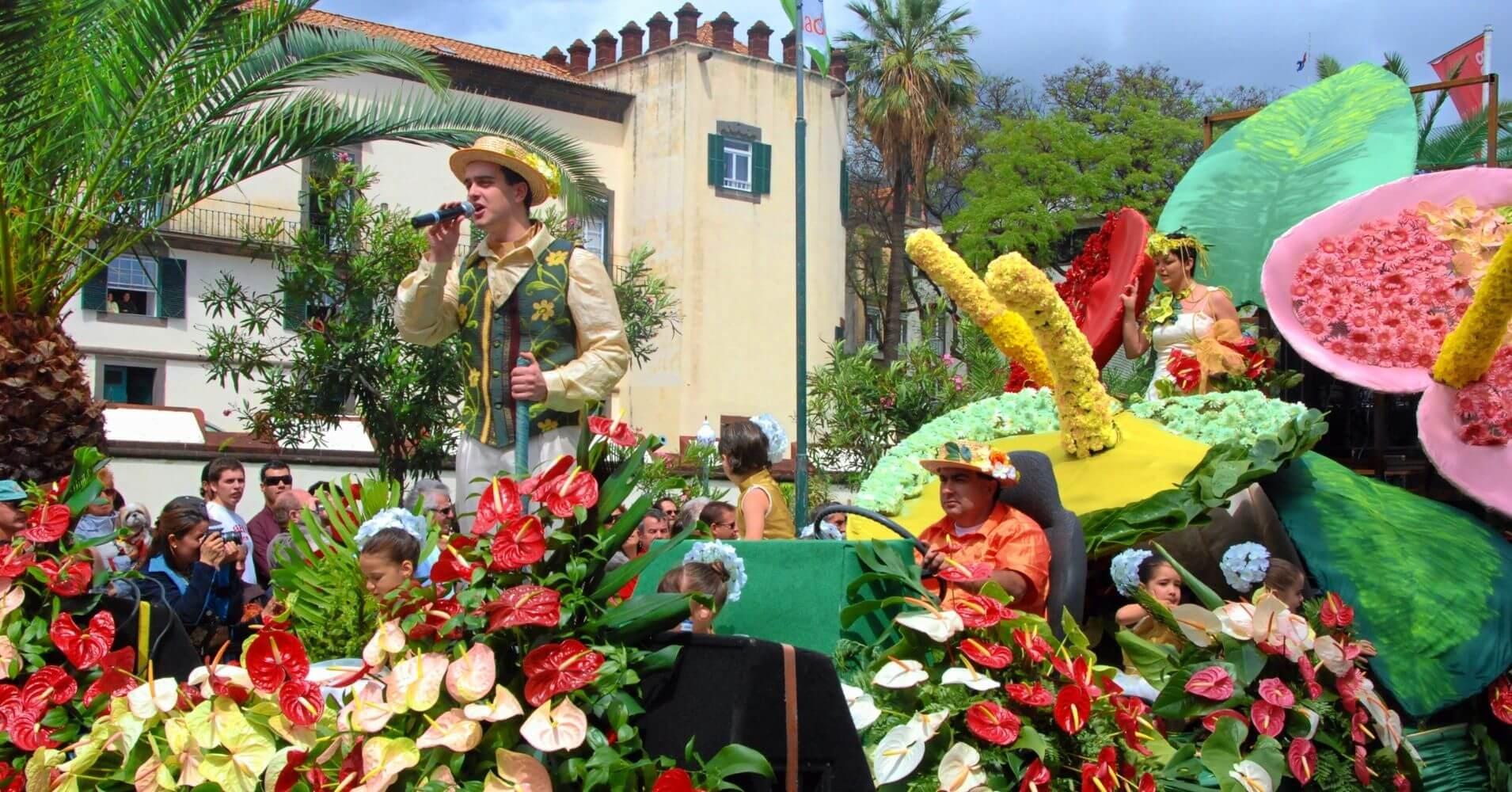 Fiesta de las Flores. Madeira, Portugal.