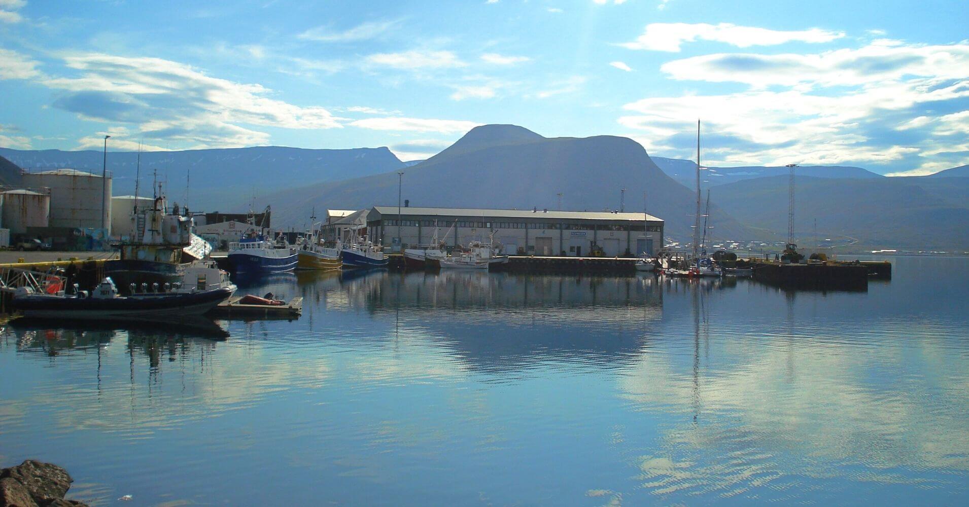 Ísafjörður. Península de Vestfirdir. Islandia.