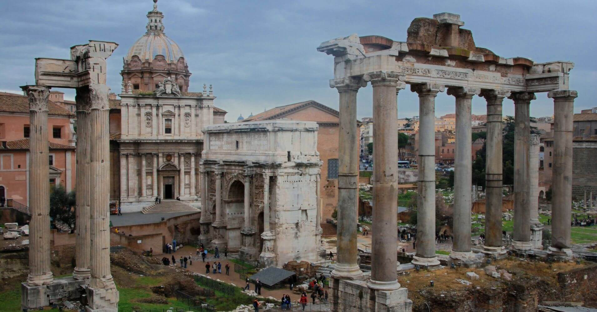 Foro Romano. Roma Capital del Imperio, Lacio. Italia.