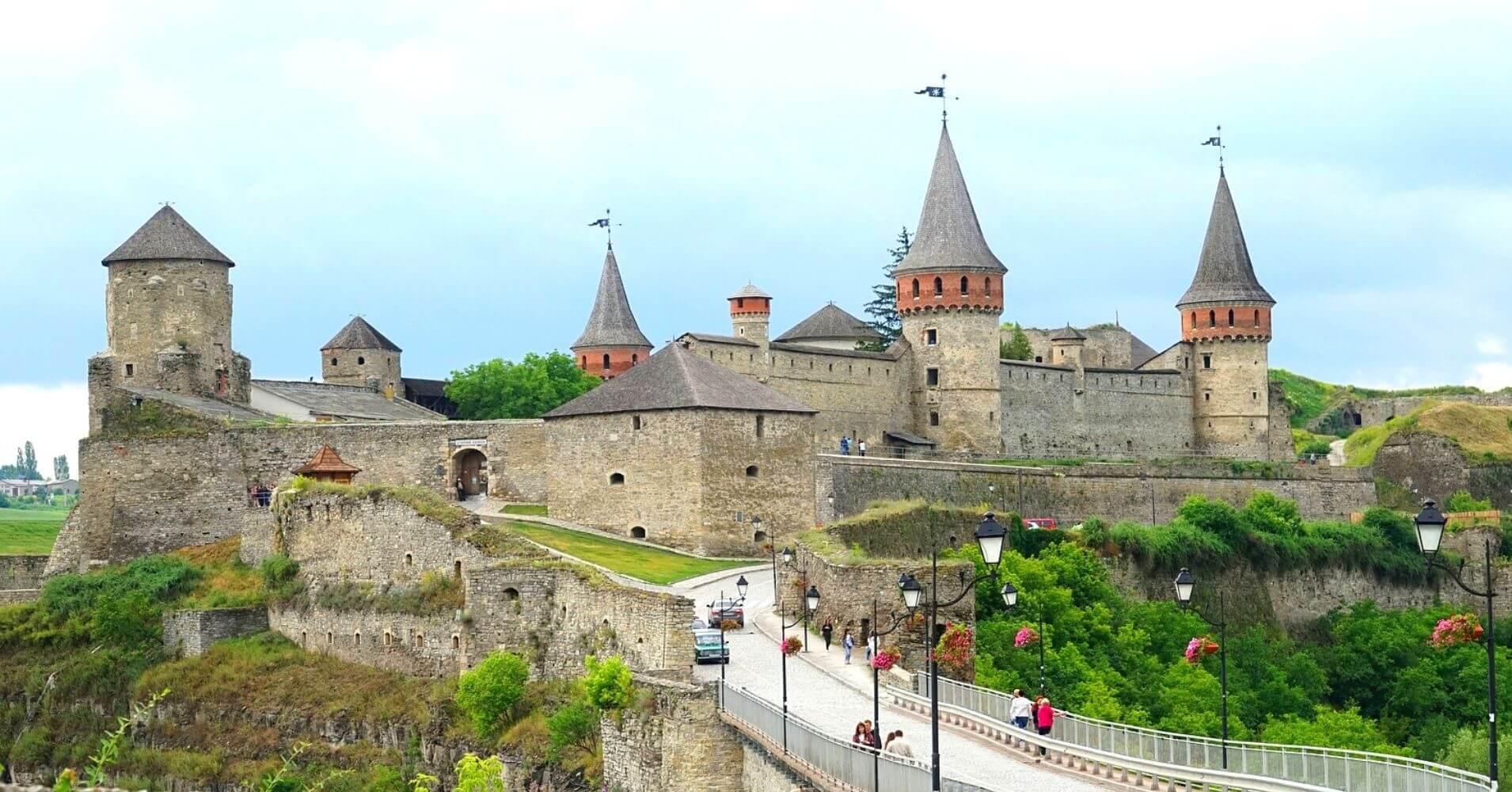 Fortaleza de Kamyanets-Podolsky. Ucrania.
