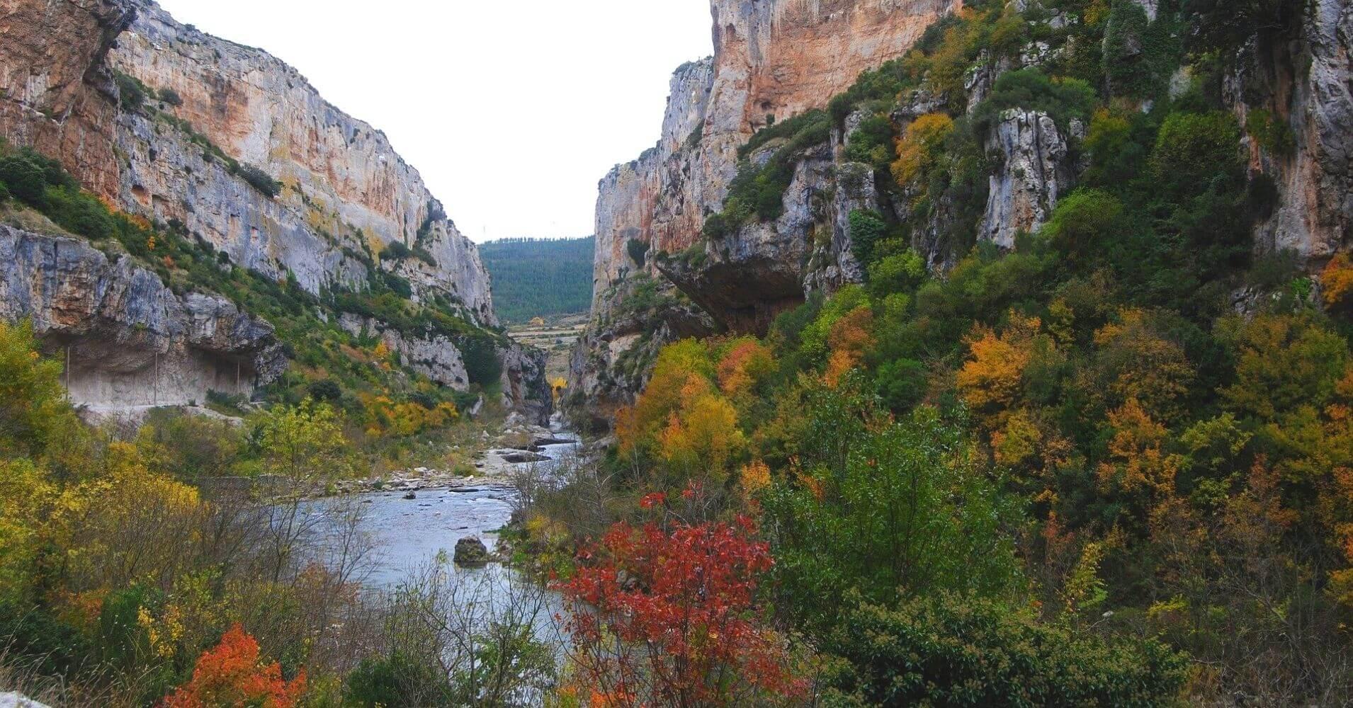 Foz de Lumbier, Navarra.