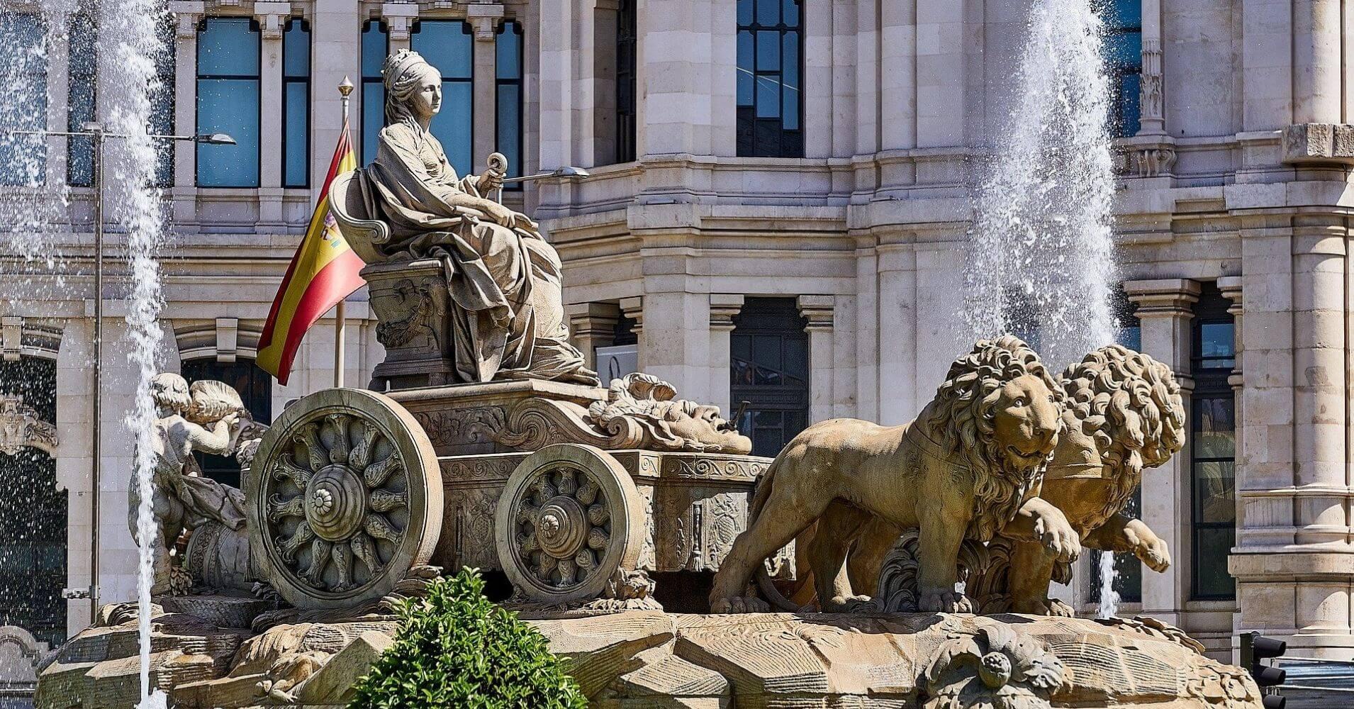 Fuente de la Cibeles. Madrid.