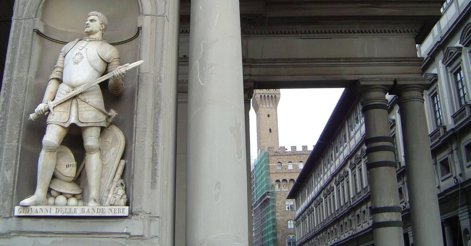 Galería Uffizi. Cinco días en Florencia. Toscana, Italia.
