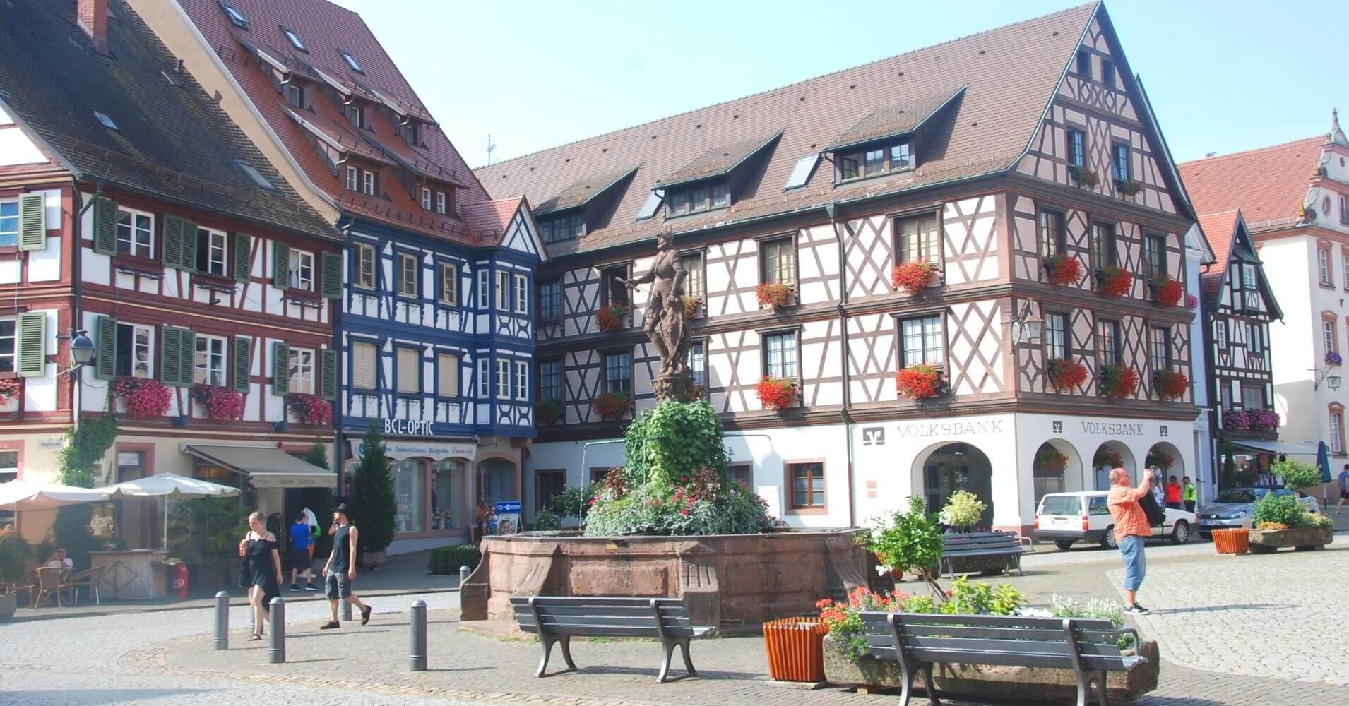 Gengenbanch, Distrito de Ortenau. Baden-Wurtemberg. Selva Negra.