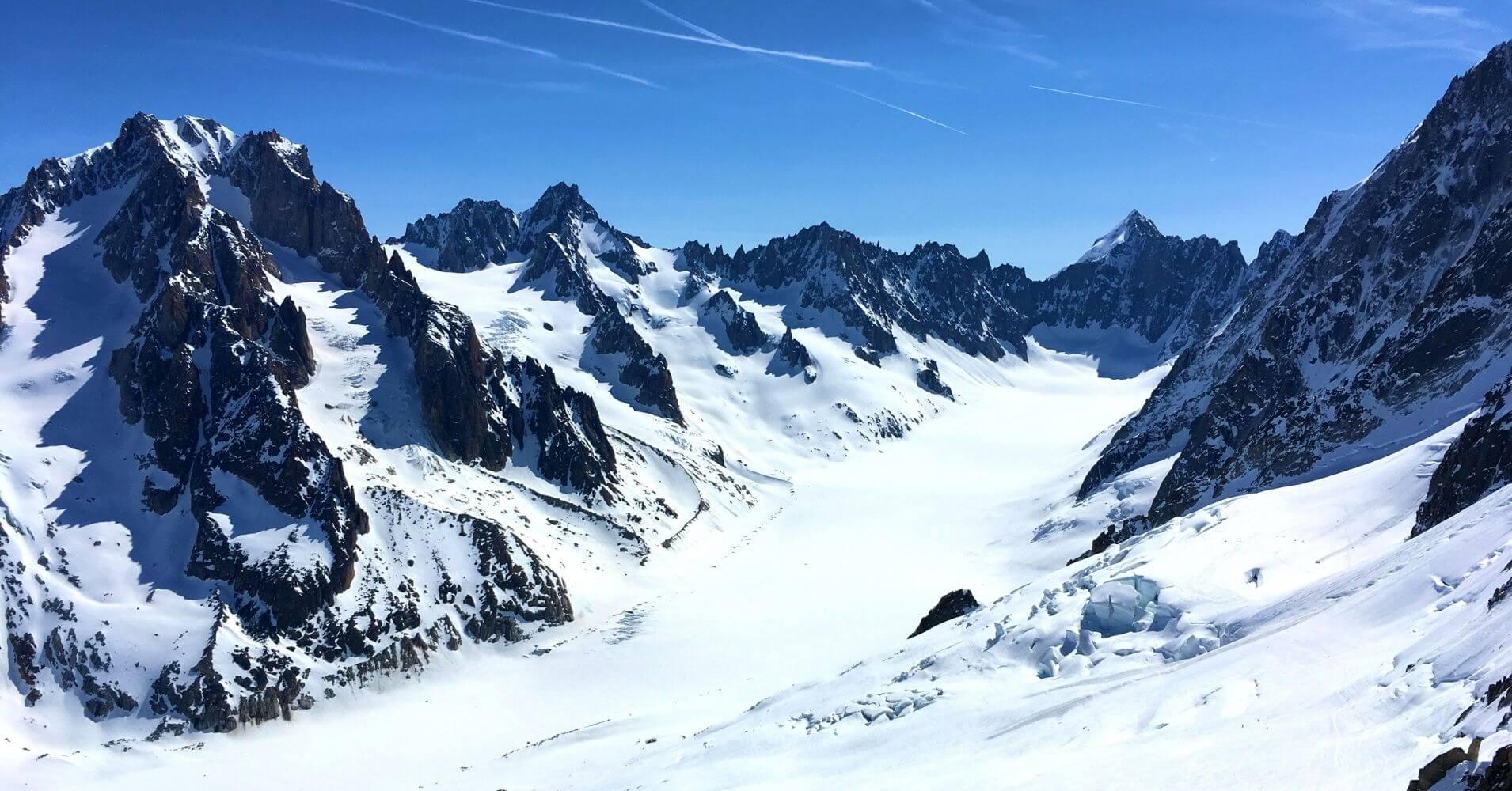 Glaciar de Argentier. Chamonix, Alta Saboya. Auvernia-Ródano-Alpes. Francia.
