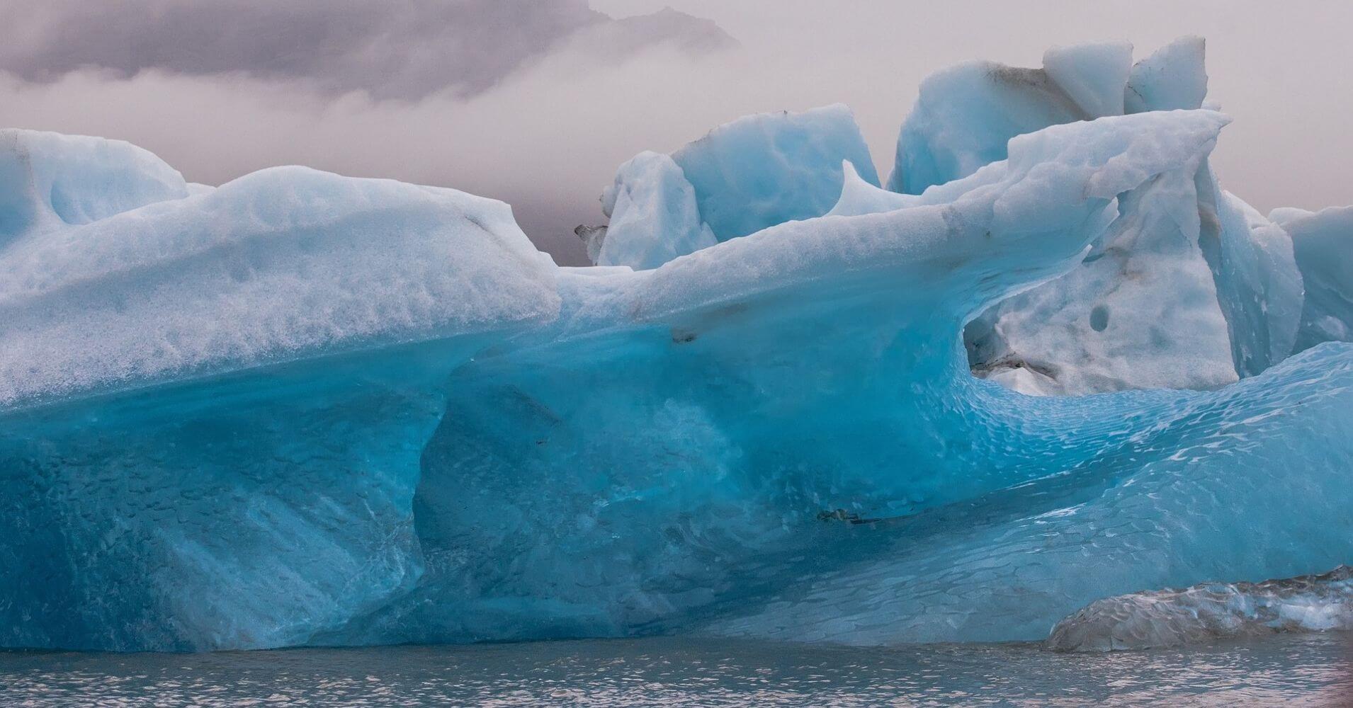 Glaciar de Islandia.