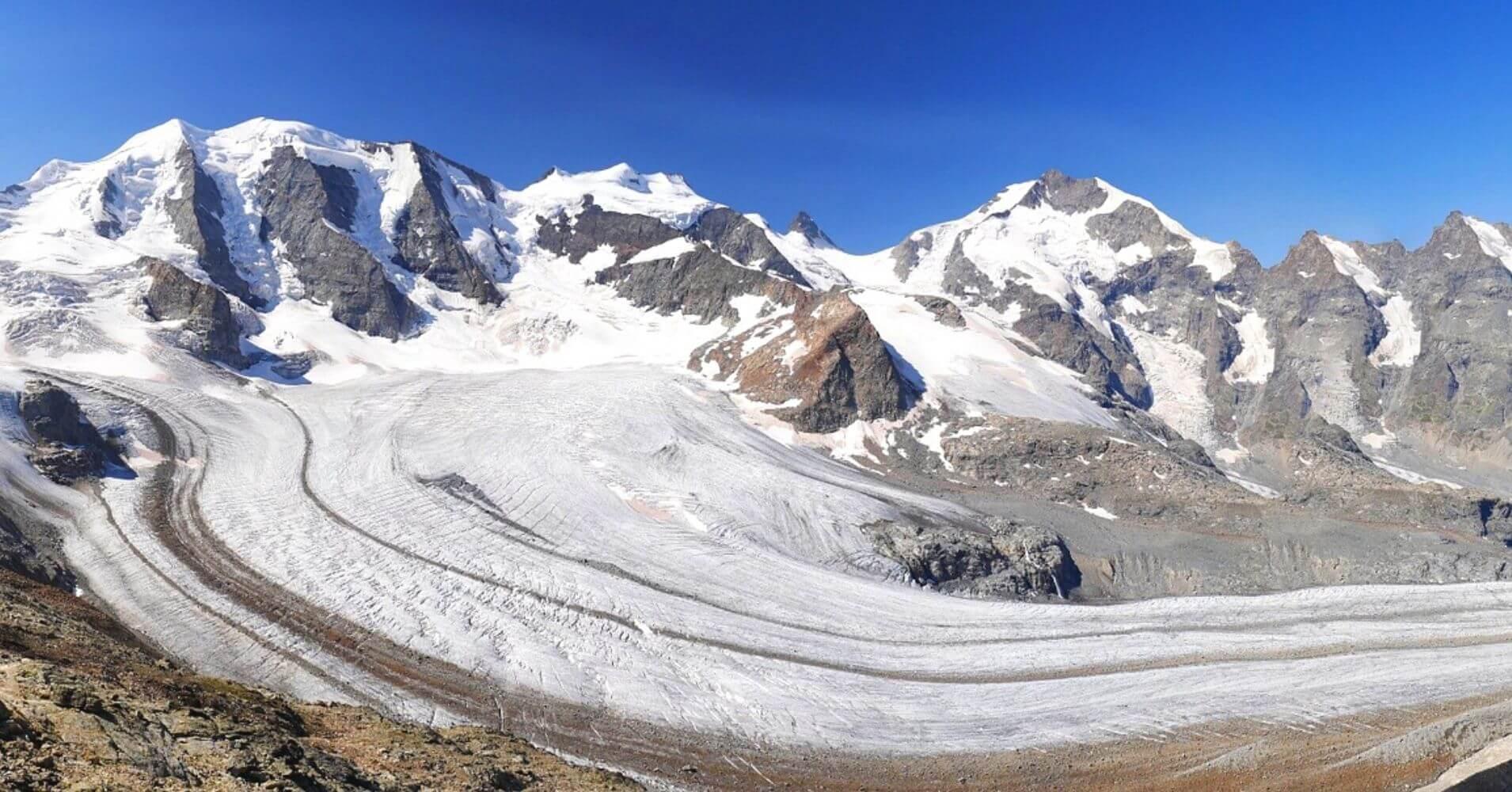 Glaciar Gorner, Zermatt. Suiza.