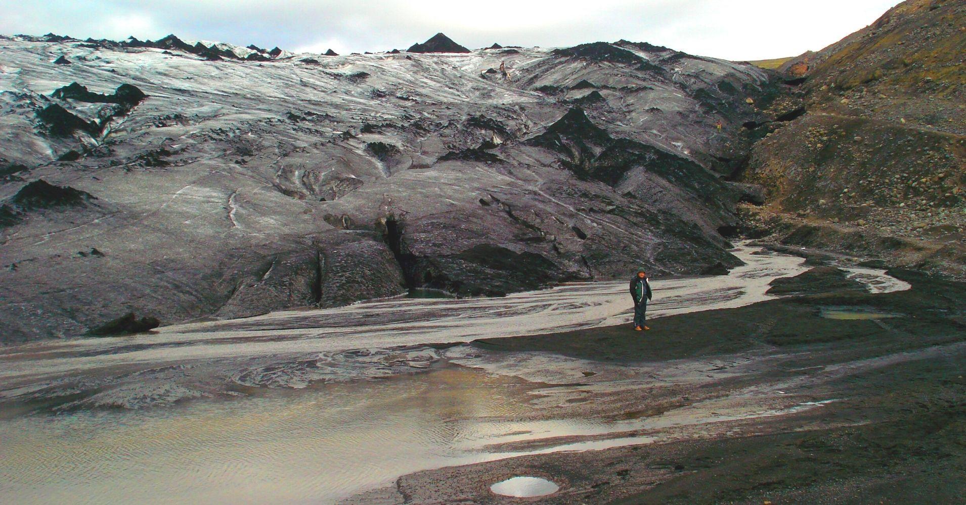 Glaciar Mýrdalsjökull Road Trip por Islandia.