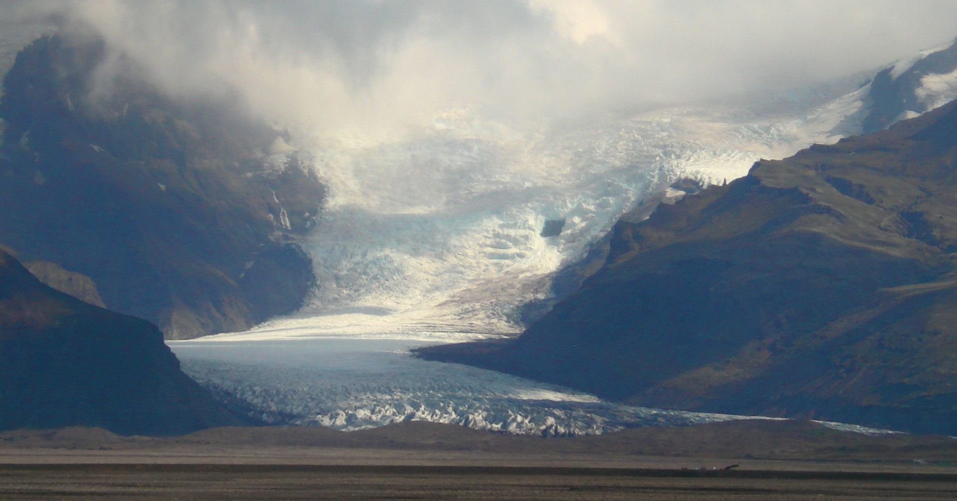 Glaciar Vatnajökull. Skaftafell Belleza Natural. Road Trip por Islandia.