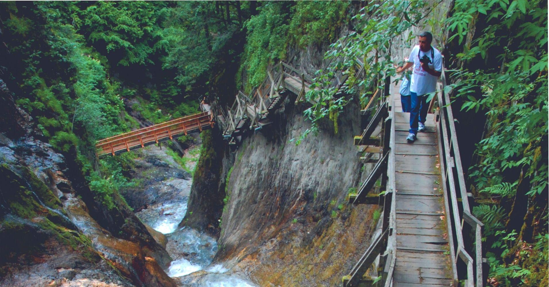 Gorges du Durnand. Les Valettes en Valais. Suiza.