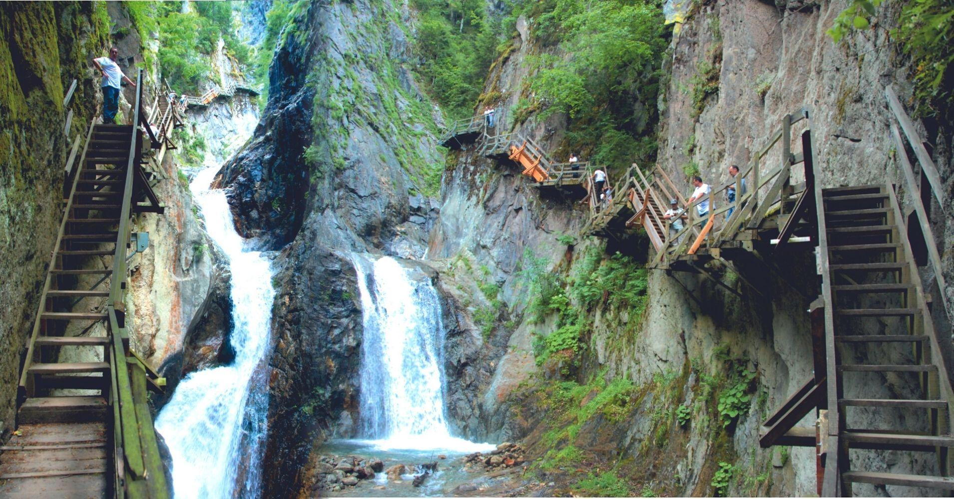 Gorges du Durnand. Les Valettes, Valais en Suiza.