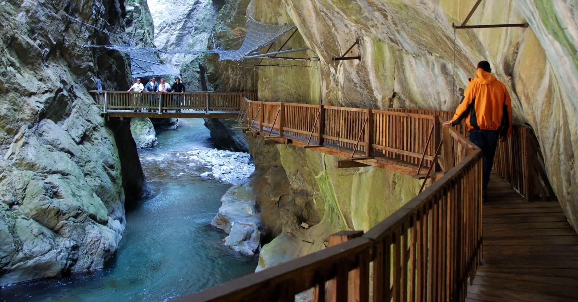 Gorges du Trient. Suiza.