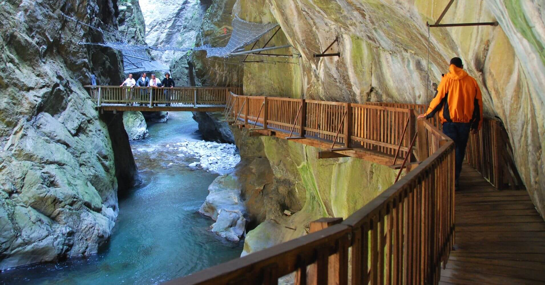 Gorges du Trient. Valais, Suiza.