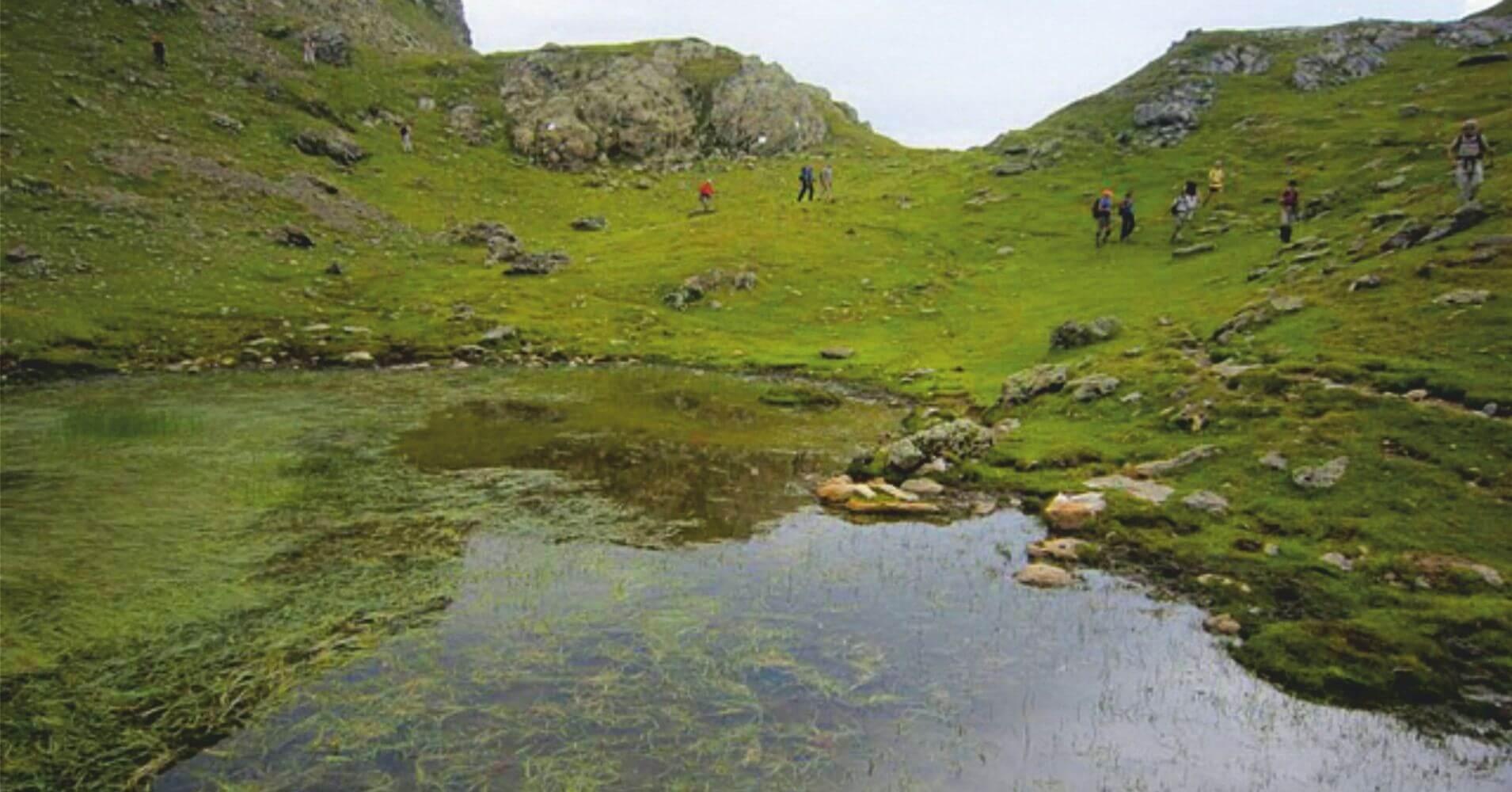 Gr10 Parque Nacional de Pirineos. Nueva Aquitania. Pirineos Atlánticos. Francia.