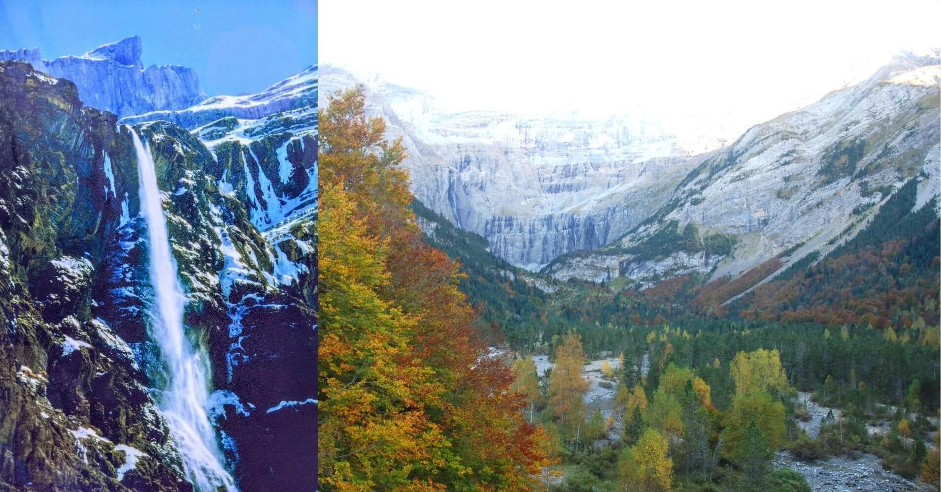 Grande Cascada, Circo de Gavarnie. Altos Pirineos. Occitania. Francia.