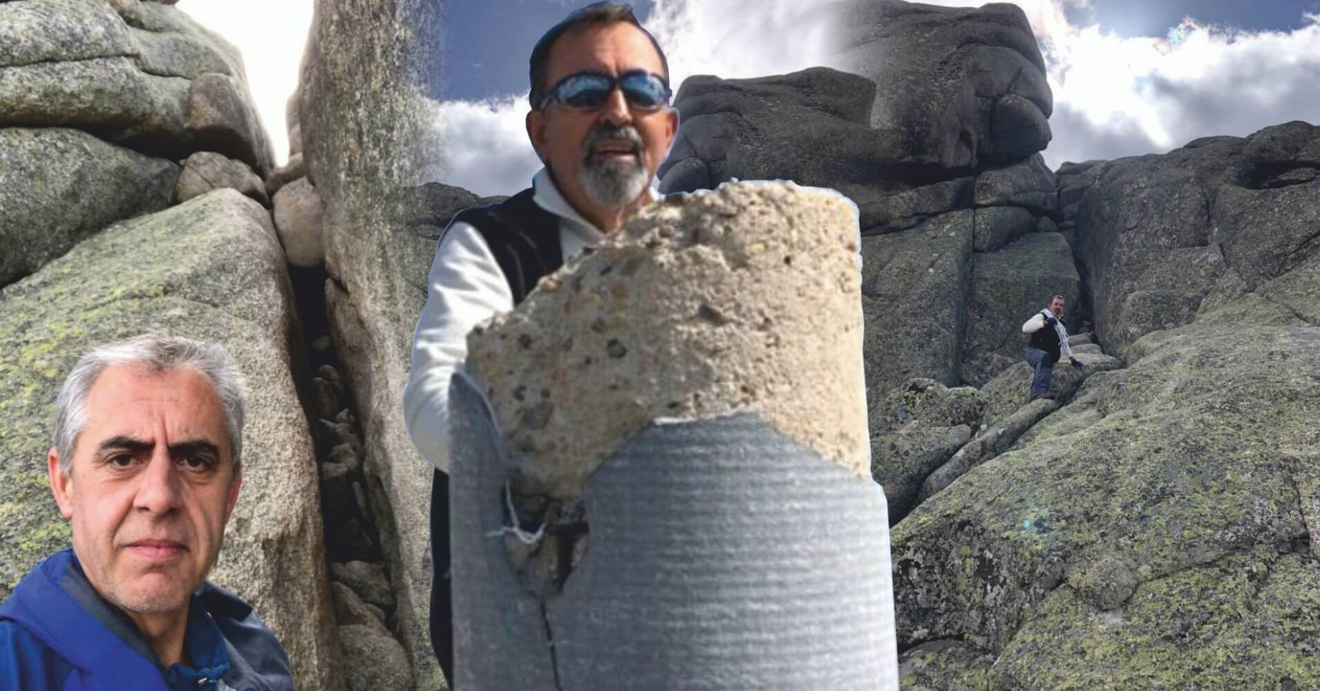 Grieta de Subida a El Yelmo y Cumbre. La Pedriza de El Manzanares. Comunidad de Madrid.
