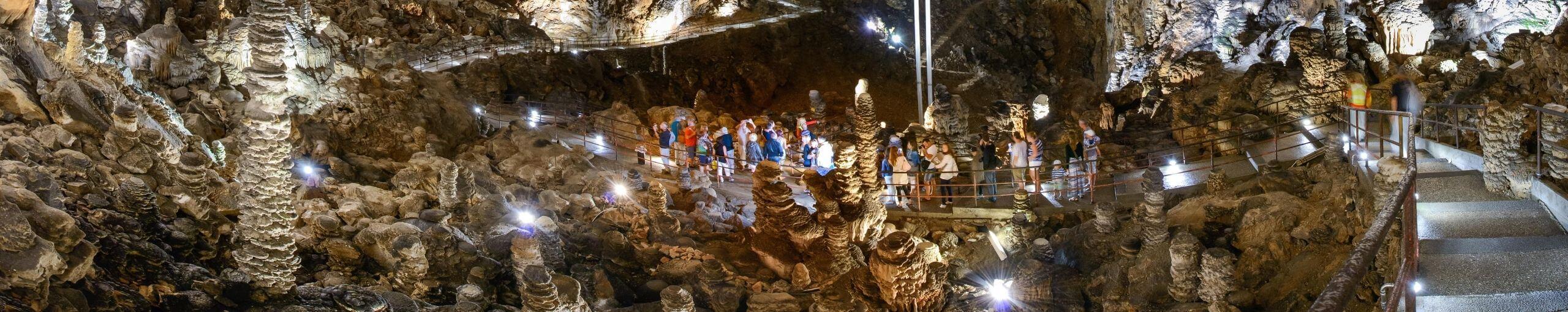 Grotta Gigante. Trieste, Friuli-Venecia Julia. Italia.