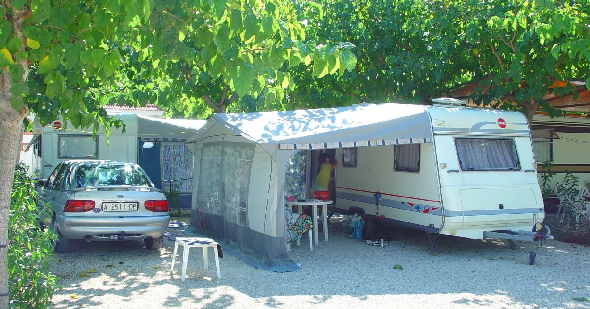 Guía Camping Comunidad Valenciana. España.