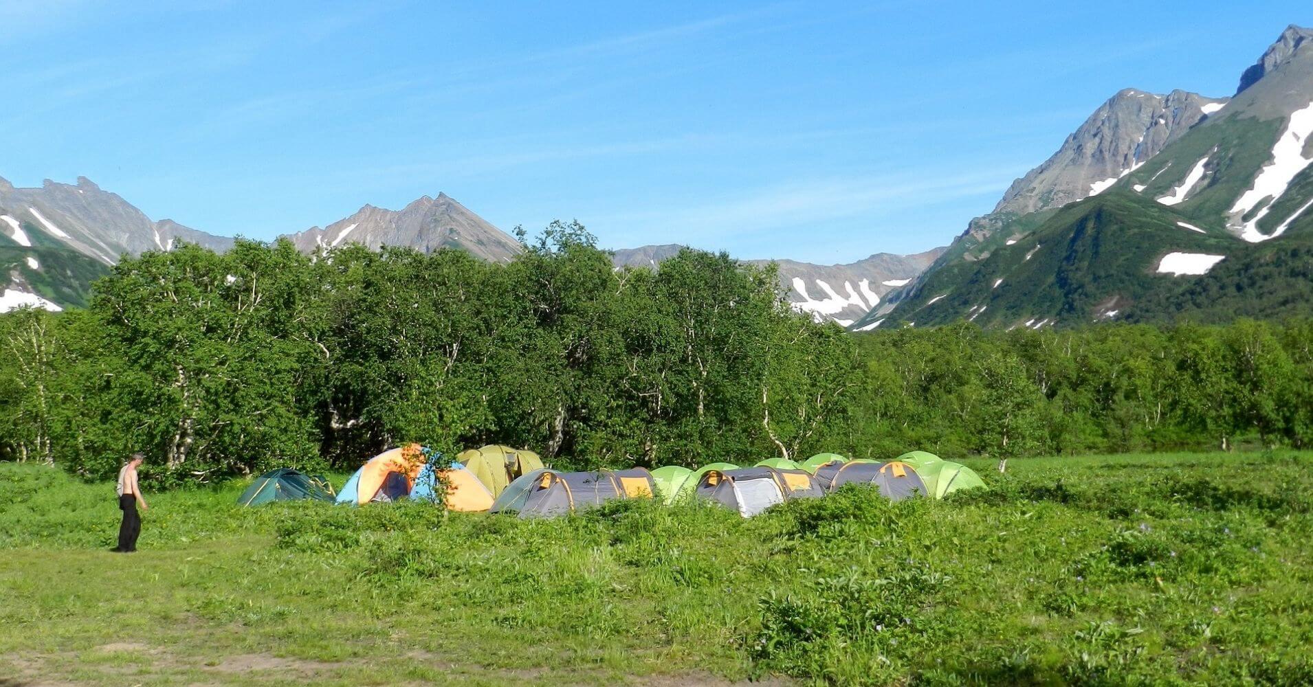 Guía Camping de Eslovenia.