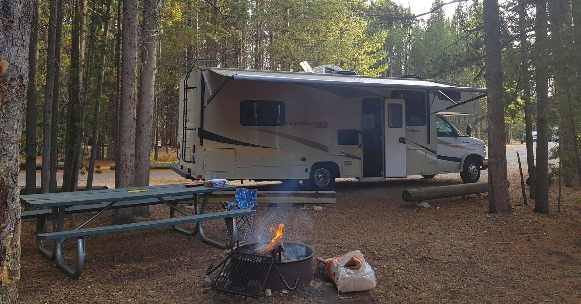Guía de Camping de Estados Unidos. USA.