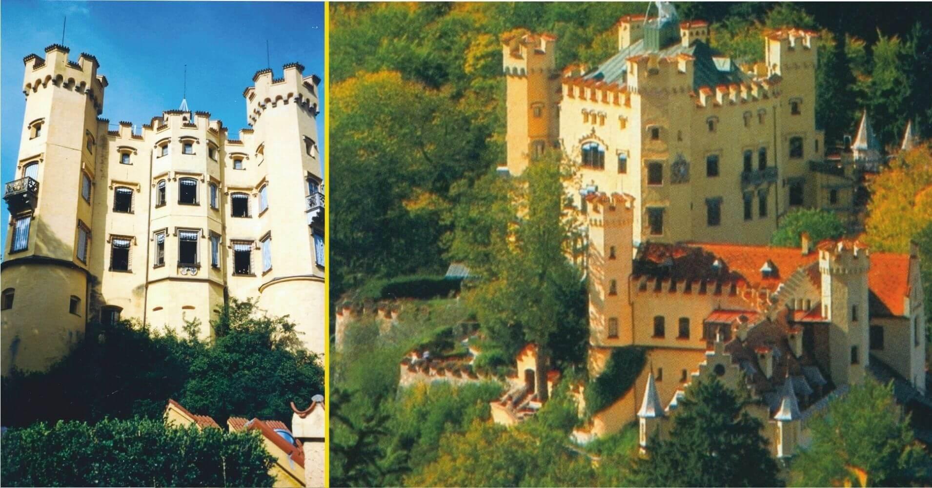 Hohenschwangau, Castle. Baviera, Alemania.