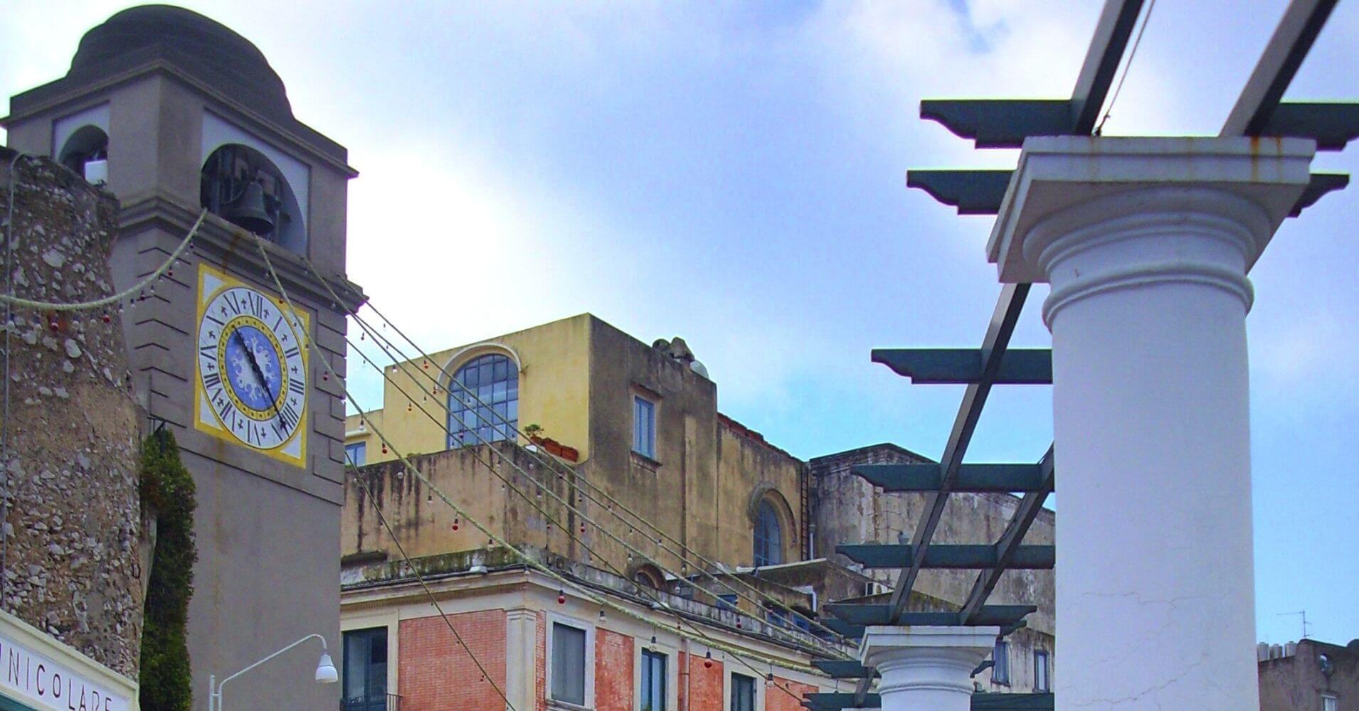 Iglesia de Capri. Campania, Italia.