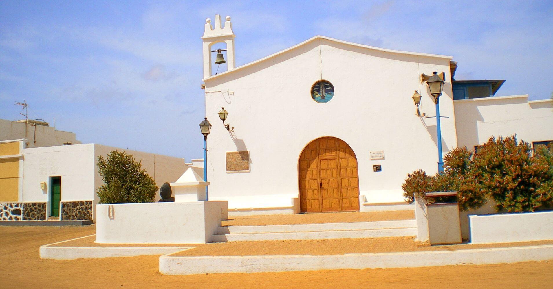 Iglesia de la Isla de la Graciosa. Lanzarote.
