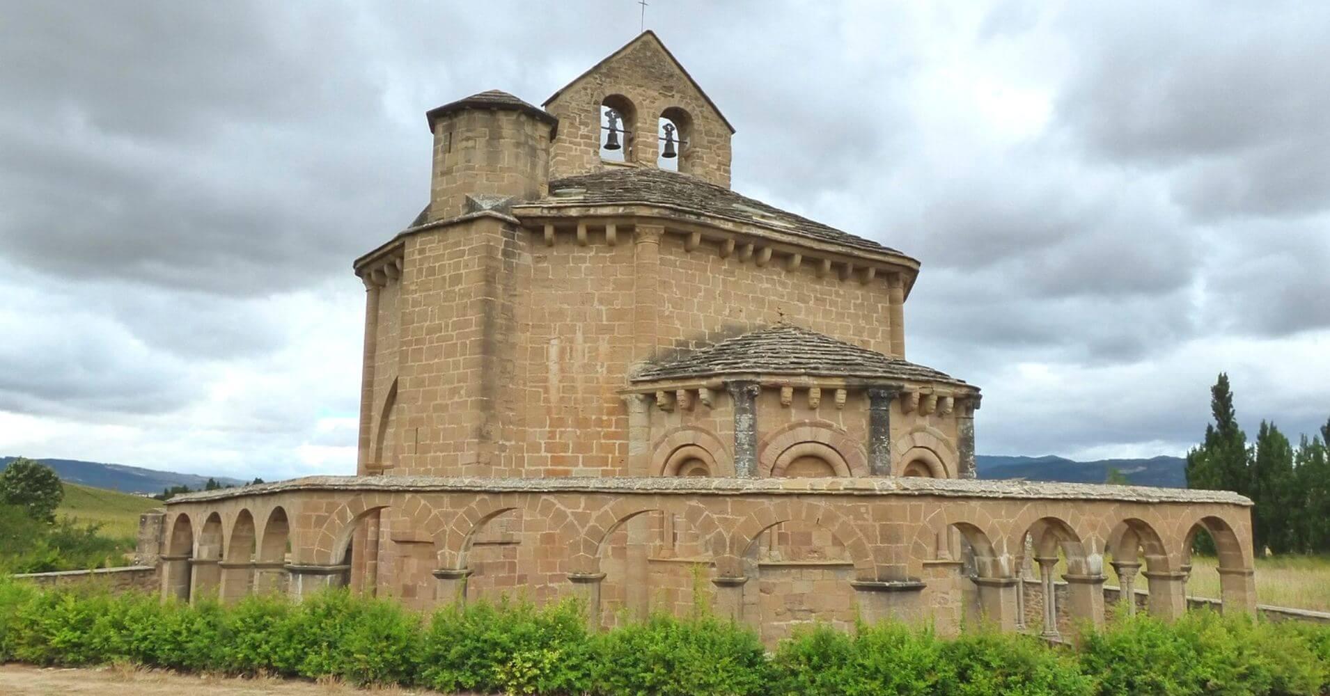 Iglesia de Santa María de Eunate.