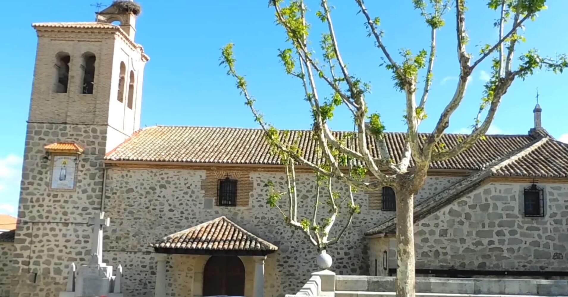 Iglesia Parroquial de San Pablo de los Montes. Toledo. Castilla la Mancha.