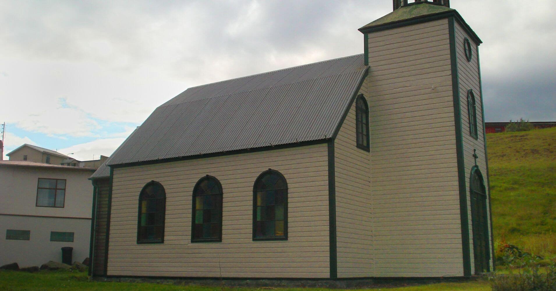 Iglesias del Norte de Islandia.