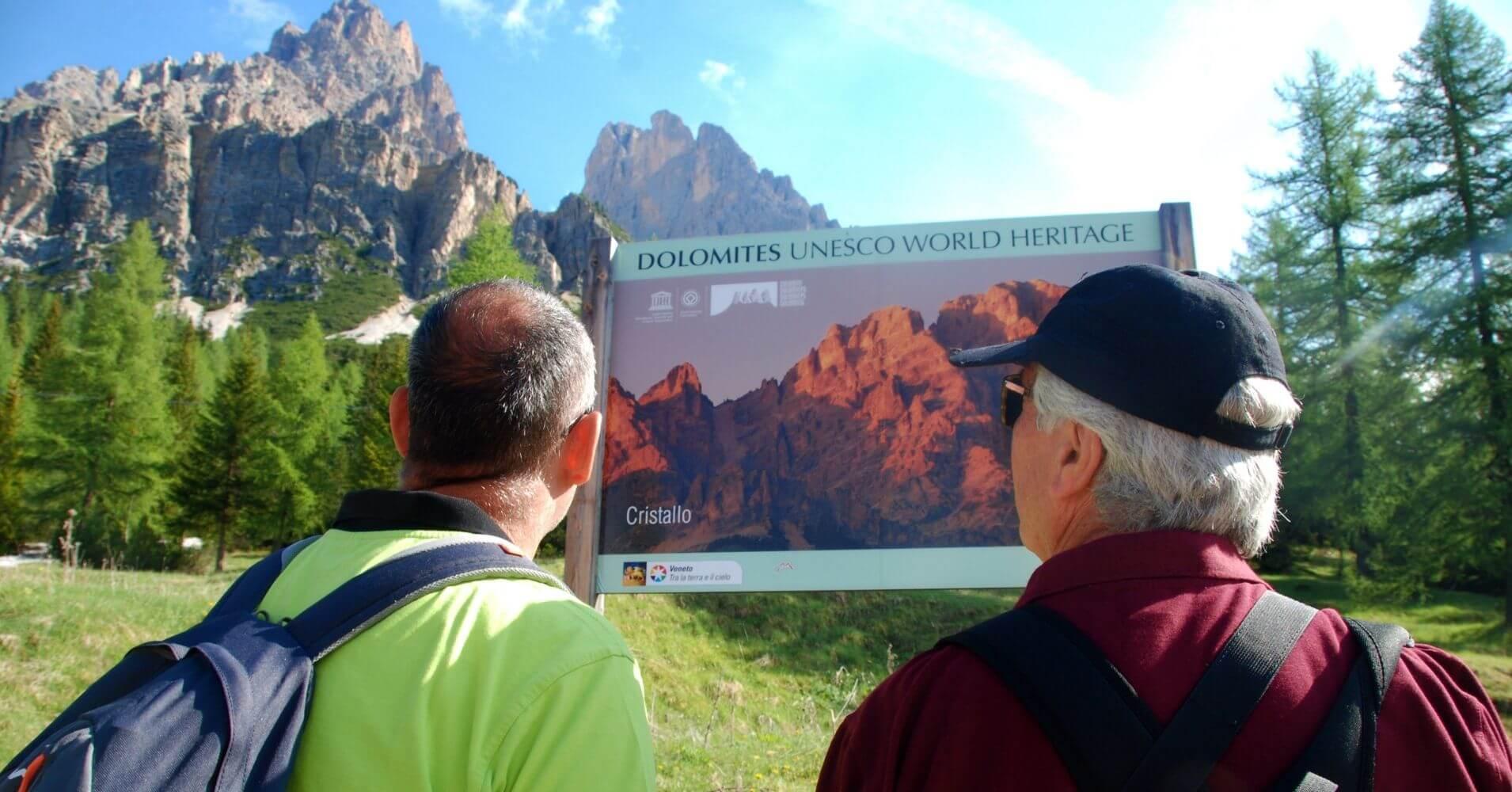 Inicio Sendero Lago di Sorapis. Cortina d' Ampezzo. Dolomitas, Belluno. Véneto. Italia.