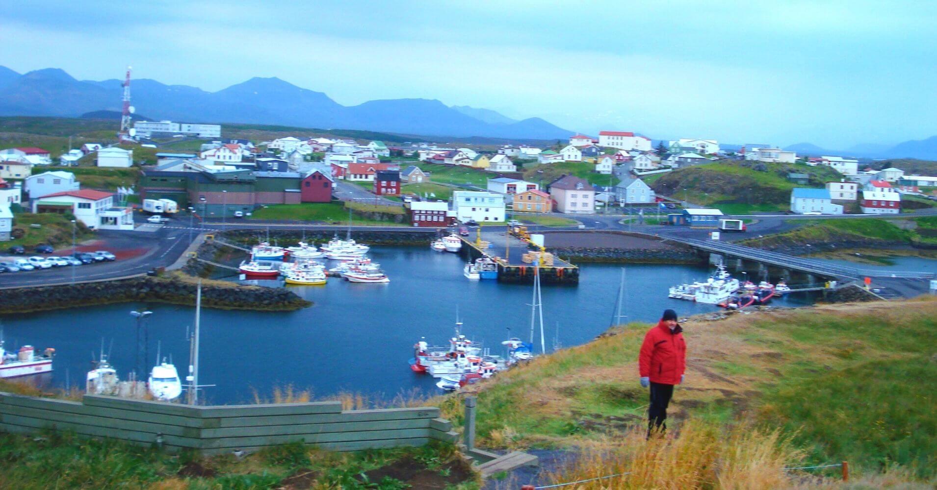 Ísafjörður. Fiordos del Oeste, Vestfirðir. Islandia.