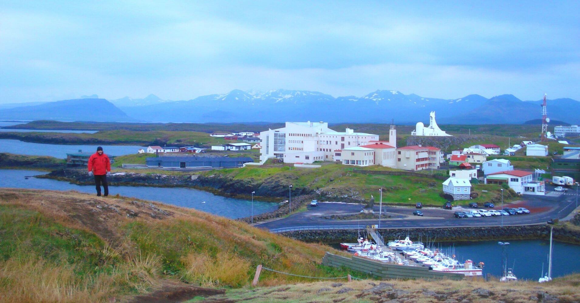 Ísafjörður. Islandia.