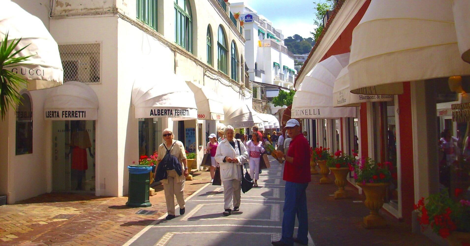 Isla de Capri la Isla Bonita. Campania, Italia.