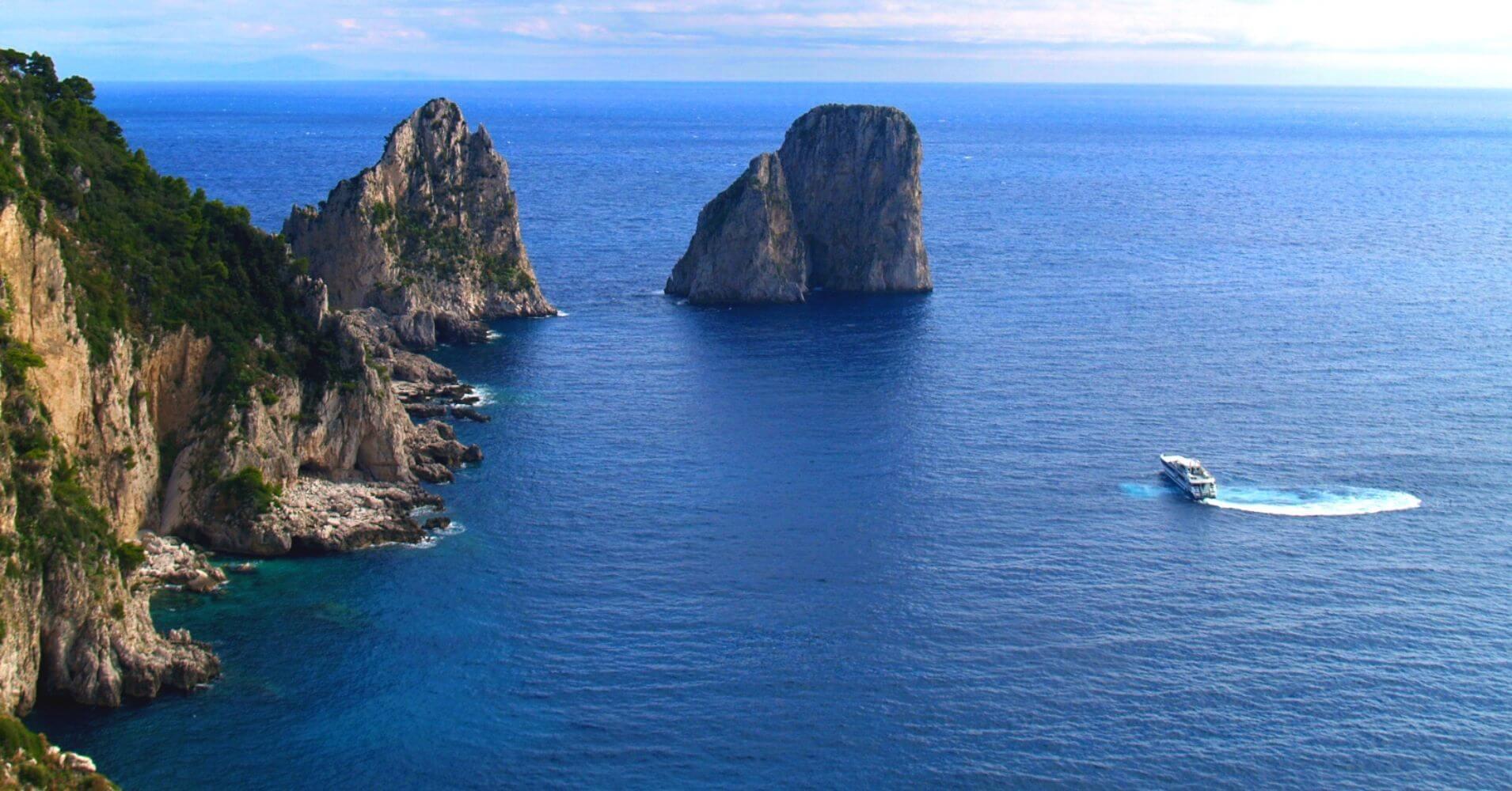 Isla de Capri, La Isla Bonita de Campania. Italia.