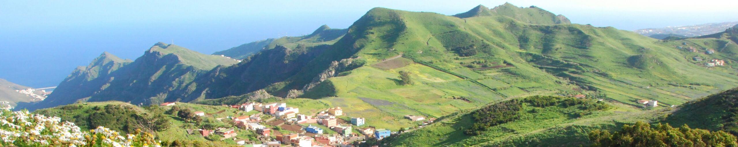 Islas Canarias. Parque Rural de Anaga. Isla de Tenerife.