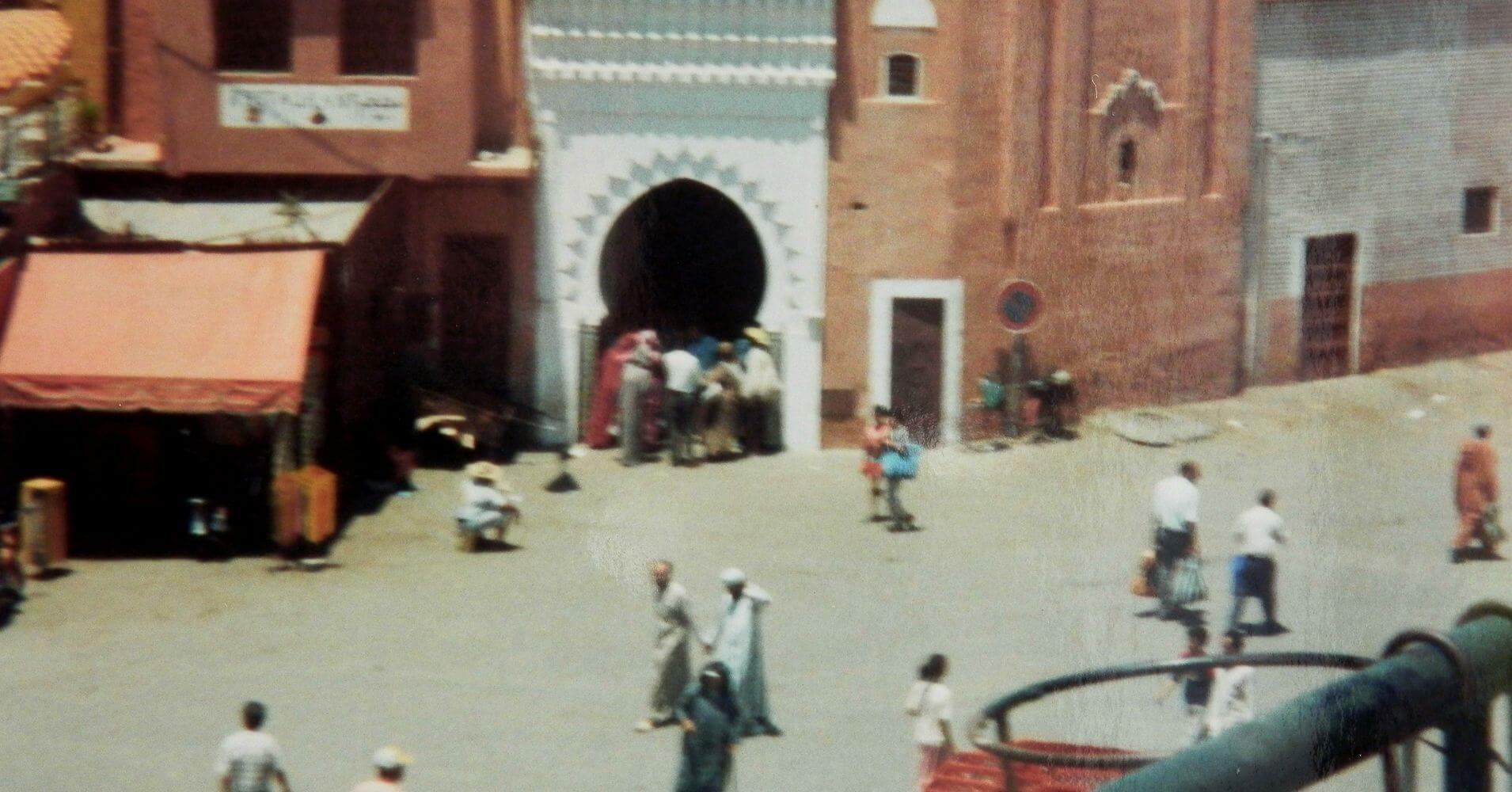 Plaza de Marrakech, Marruecos.