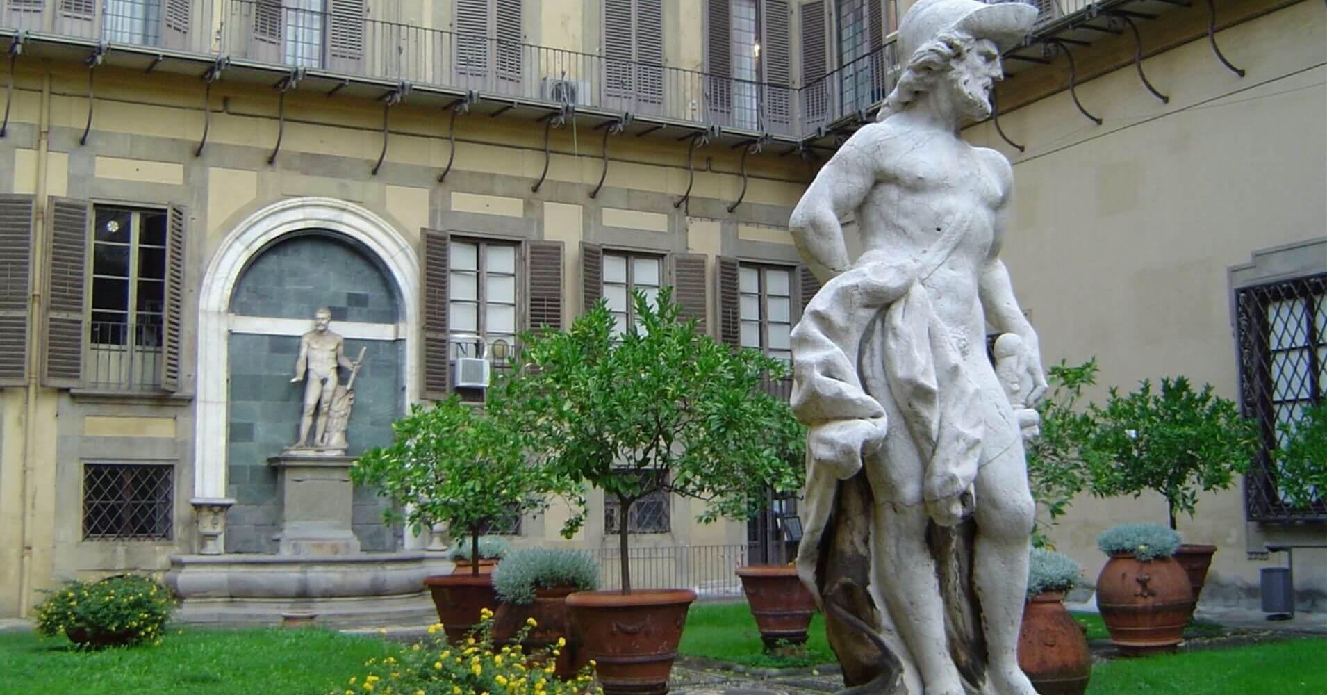 Jardín Palacio Medici Ricardi. Cinco días en Florencia. Toscana, Italia.