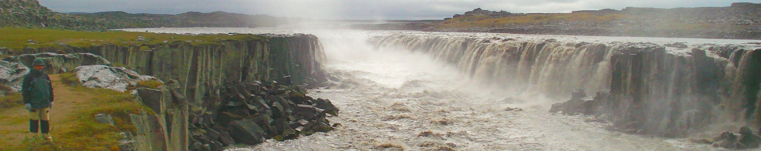 Jökulsárgljúfur Cascada Dettifoss. Islandia.