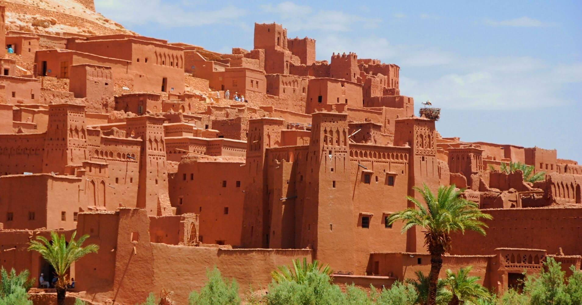 Kasbah de Aït Ben Haddou, Marruecos.