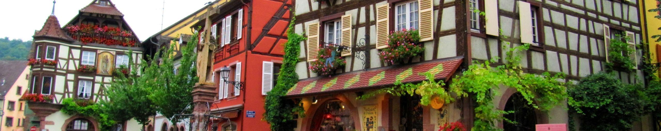 Kaysersberg, Alsacia. Alto Rin. Gran Este, Francia.