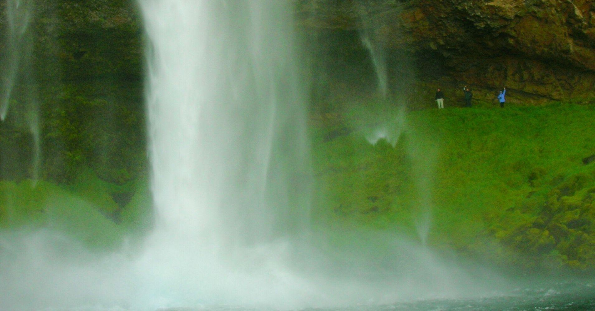 La Cascada Seljanlandsföss. Road Trip por Islandia.