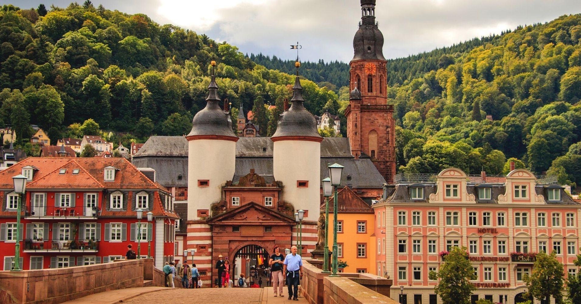 La Ciudad. Baden-Wurtemberg. Alemania.