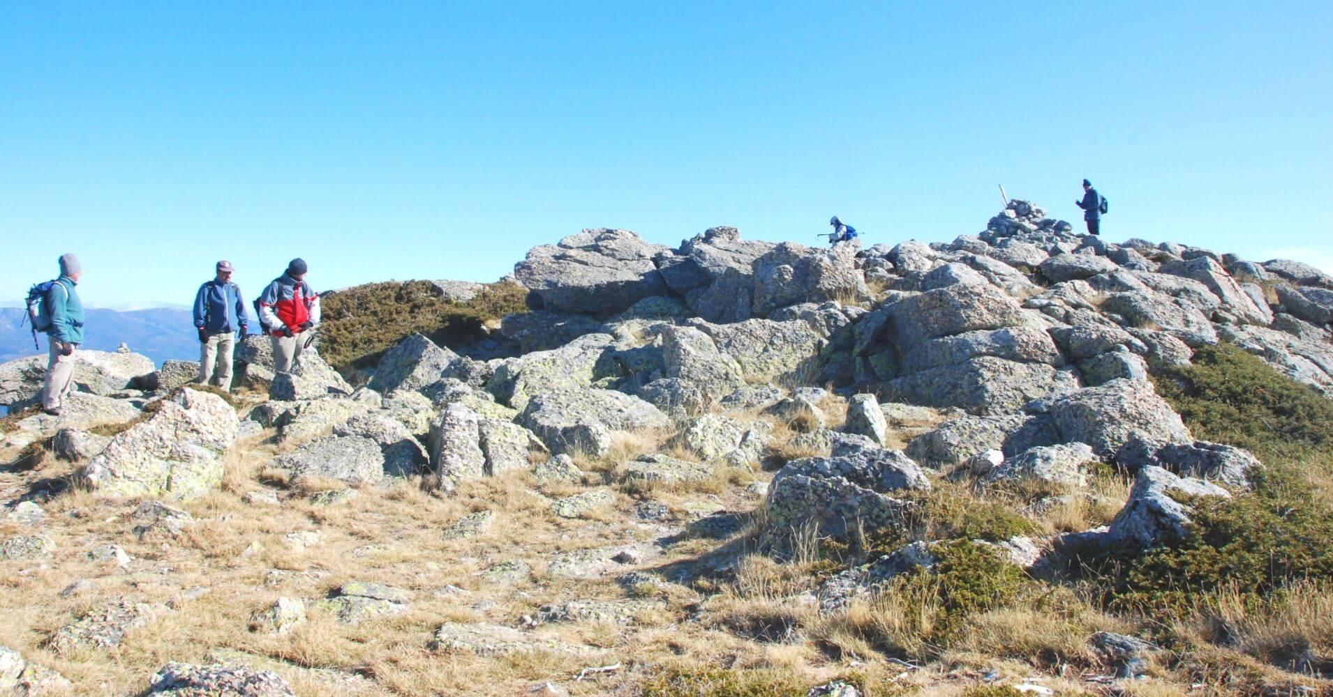Cuerda Larga. Parque Nacional Sierra de Guadarrama. Comunidad de Madrid.