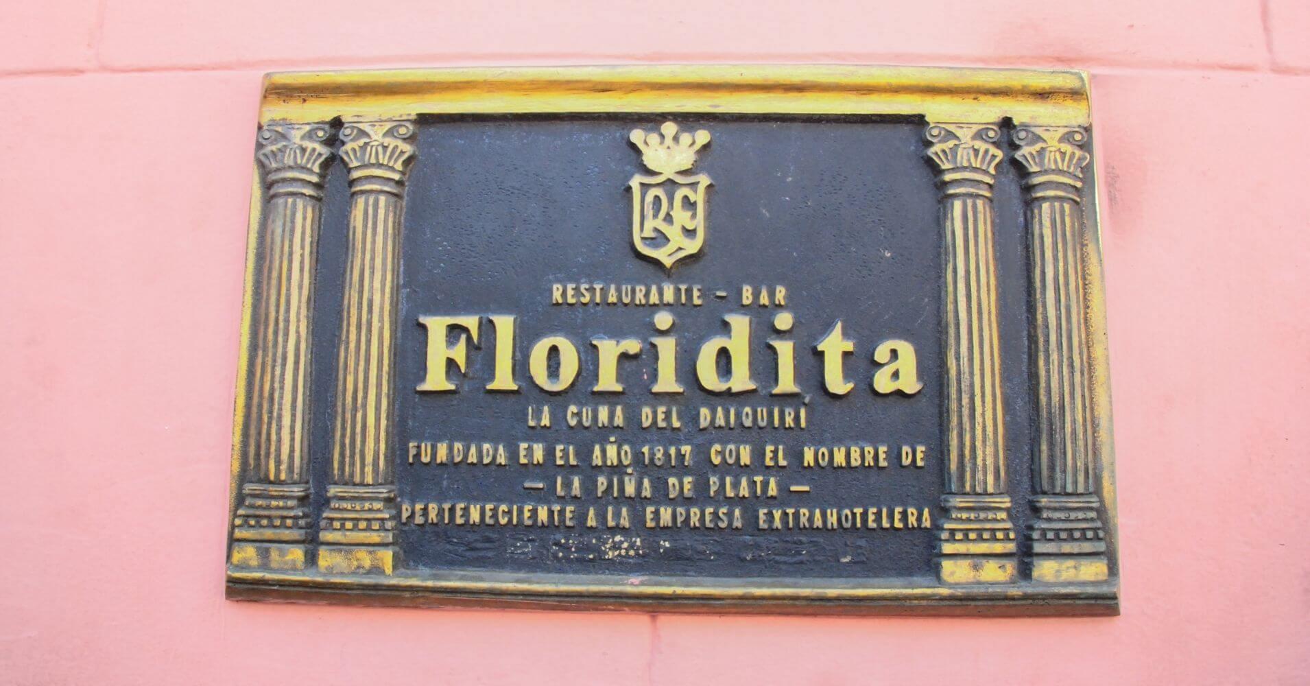 La Floridita, Cuna del Daiquiri. La Habana, Cuba.