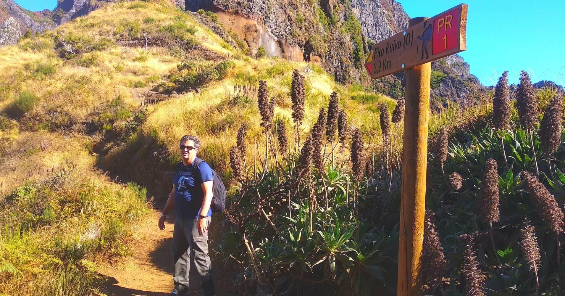 La Vereda de Areeiro. Madeira, Portugal.