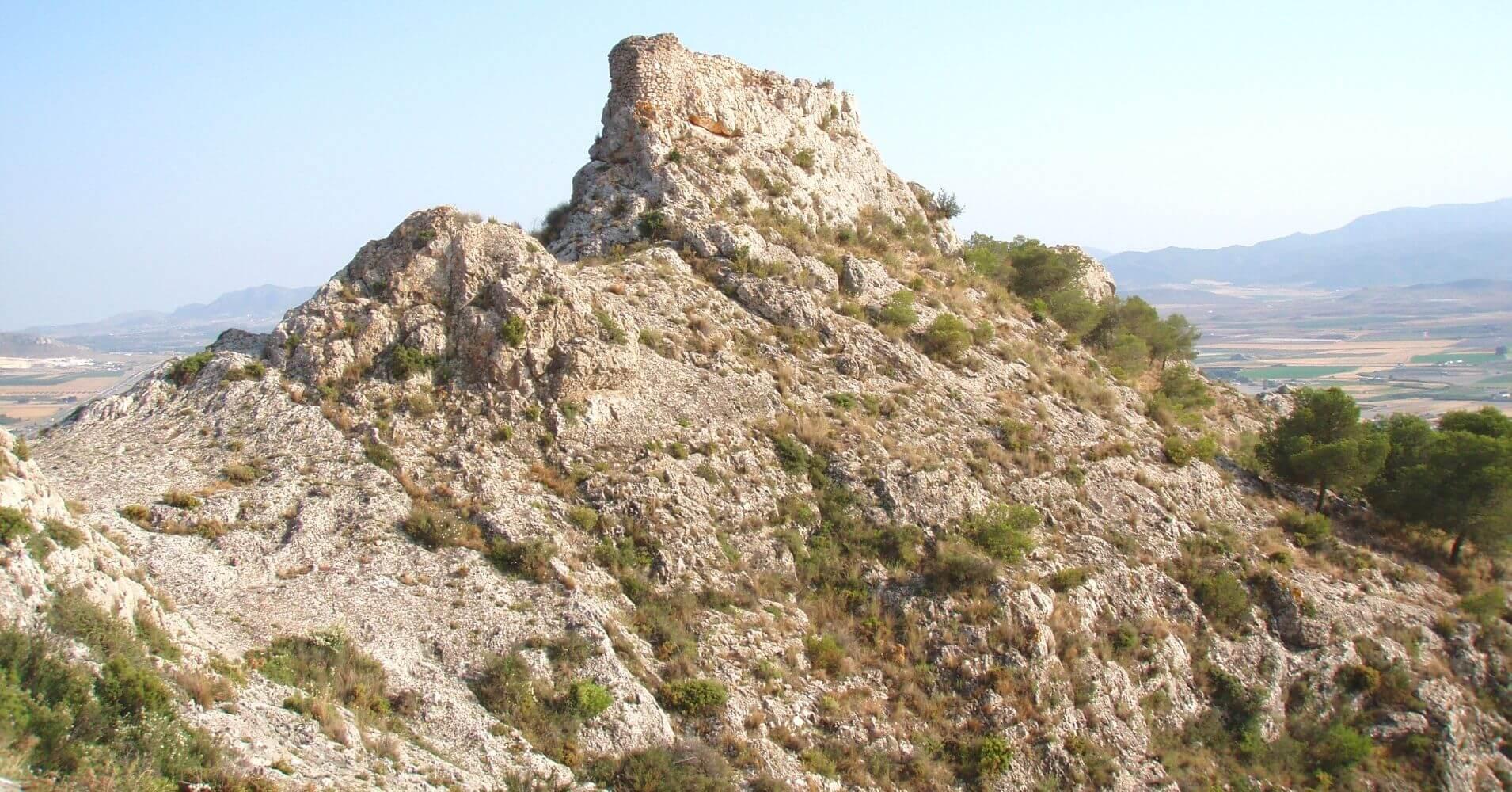 La Vía Ferrata Castillo de Salvatierra. Villena, Alicante. Comunidad Valenciana.